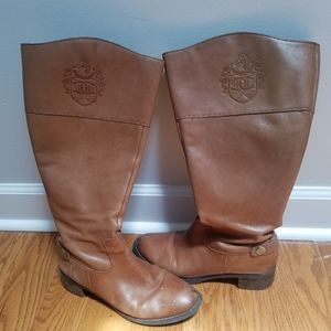 Etienne Aigner Women's Leather Riding Boot